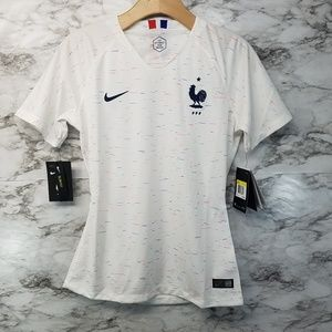 Nike France Womens Soccer Jersey Sz Small 2018